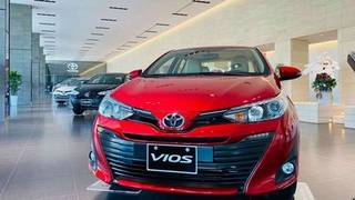 Toyota vios 2020   giảm tiền mặt, tặng pk và bh