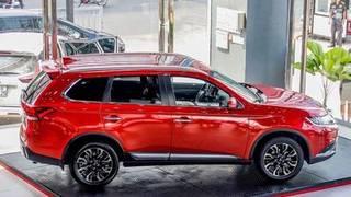Mitsubishi outlander 2020: giảm 100 thuế trước bạ