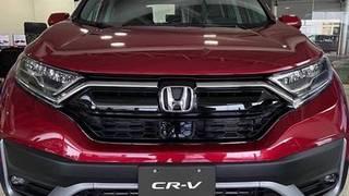 Honda crv 2020 đỏ mới, hỗ trợ trước bạ, bhvc, pk