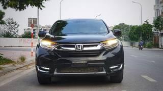 Honda crv bản l sx2019 màu đen 2v km