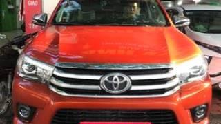 Toyota hilux g 2016 tự động 4x4