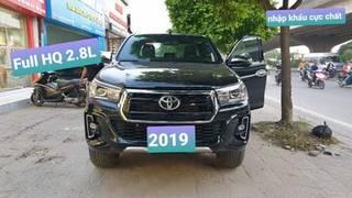 Toyota hilux at 2019 màu đen cực đẹp hai cầu full