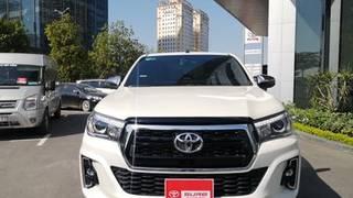Toyota hilux 2019 tự động 4x4 máy dầu biển hà nội