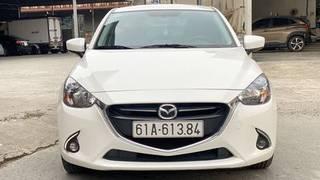 Mazda 2 màu trắng số tự động 2018 xe đẹp bao test