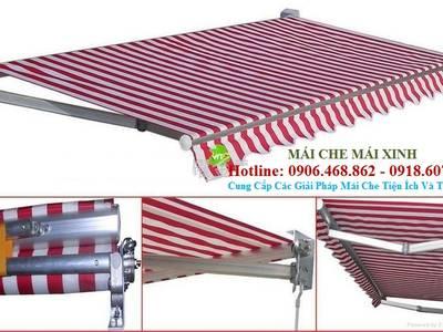Bán vật tư mái bạt, cung cấp linh kiện mái xếp lượn sóng,hướng dẫn thi công mái hiên di động mái xếp 1