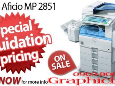 Máy Ricoh Aficio MP2851, Ricoh Aficio MP3351 Tặng Mực Photocopy GraphicLite. 0