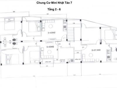 Bán chung cư mini Nhật Tảo 7 Đông Ngạc Bắc Từ Liêm 43m2 giá 610tr Có Sổ Đỏ 3