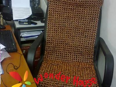 Đệm ghế ô tô hạt gỗ nhỏ 2