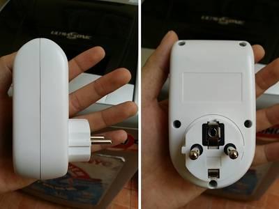 ổ cắm hẹn giờ điện tử tm01 tắt/mở thiết bị tự động, tiết kiệm điện...
