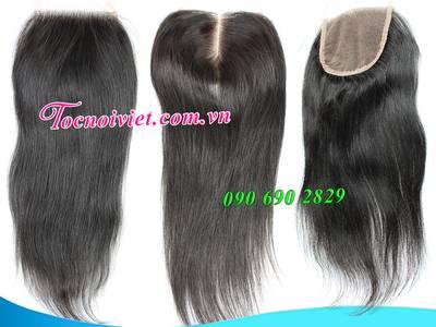 Toc hoi, mái hói giả nam nữ bằng tóc thật, tóc đội hói, bán tóc nối kẹp 11