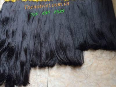 Toc hoi, mái hói giả nam nữ bằng tóc thật, tóc đội hói, bán tóc nối kẹp 16