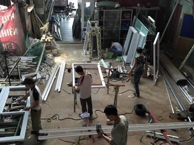 Chuyên sản xuất cửa nhựa lõi thép, cửa nhôm kính, trần thach cao, trần nhựa 14