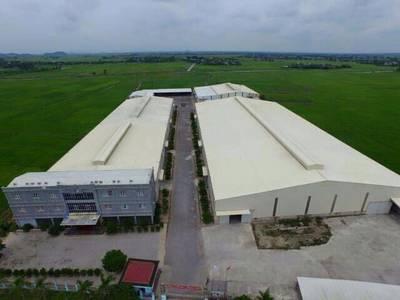 Cho thuê xưởng diện tích cực lớn tại Vụ Bản Nam Định 5000-30000m2 1
