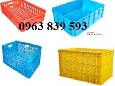 Rổ nhựa đan, rổ nhựa công nghiệp, rổ nhựa có bánh xe, rổ nhựa đựng thành phẩm 1