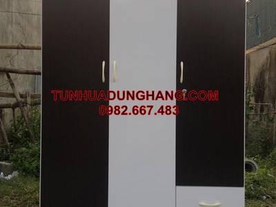 Tủ quần áo nhựa Đài Loan Giá 2200000đ- không cong vênh, mối mọt, ẩm mốc - BH 10 năm 12