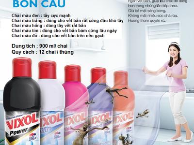 Nước lau sàn Whiz - Nước tẩy toilet, nhà tắm, bồn cầu VIXOL- Nước giặt xả vải Hygiene - Thái Lan 4