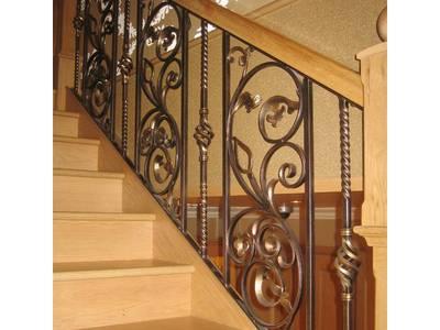 Cầu thang sắt, ban công sắt đẹp tại hà nội 1