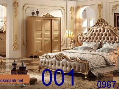 Giường Ngủ Tân Cổ Điển Giá Rẻ - đặt mua giường cổ điển sang trọng 0