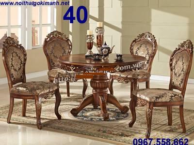 Mẫu bàn ăn cổ điển đẹp - bàn ăn cổ điển Cần Thơ Vĩnh Long - mua bàn ăn cổ điển ở đâu rẻ 11