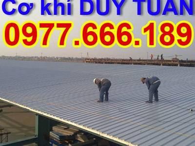 Nhận làm mái tôn chống nóng, mái nhựa giá rẻ tại Hà Nội 0