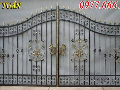 Cửa cổng sắt, hàng rào biệt thự đẹp 3