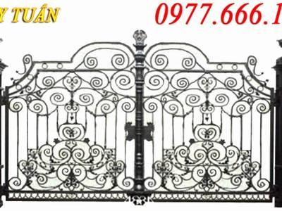 Cửa cổng sắt, hàng rào biệt thự đẹp 7