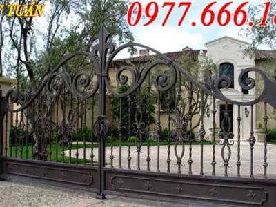Cửa cổng sắt, hàng rào biệt thự đẹp 9