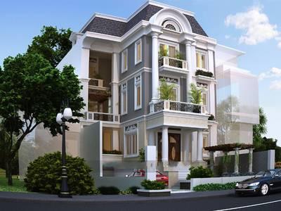 Thiết kế biệt thự giá rẻ tại Hà Nội, Thiết kế nhà biệt thự tại Hà Nội 13