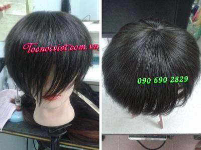 Mua bán tóc nối thật, tóc nối giá rẻ, tóc nối vê keo, tóc dệt kẹp cột, tóc đầu giả 15