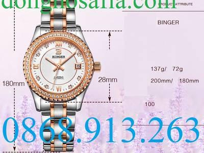 Đồng hồ đôi cơ Binger 11222 BG204 5