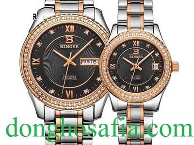 Đồng hồ đôi cơ Binger 11222 BG204 9