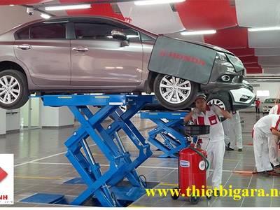 Cầu nâng ô tô 2 trụ 7