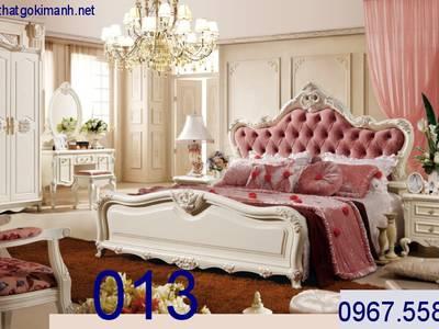 Giường Ngủ Tân Cổ Điển   giường cổ điển giá rẻ 10