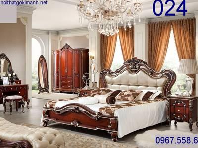Giường Ngủ Tân Cổ Điển   giường cổ điển giá rẻ 11