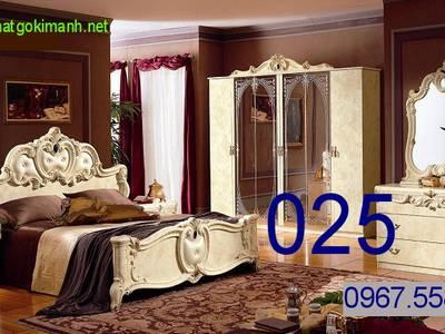 Giường Ngủ Tân Cổ Điển   giường cổ điển giá rẻ 12