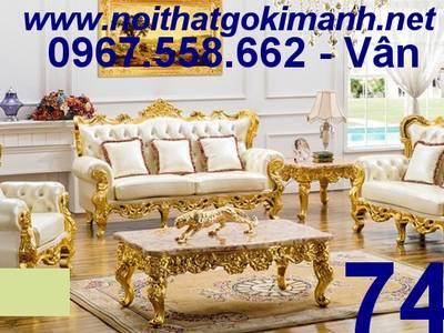 Bàn ghế sofa tân cổ điển tphcm - sofa cổ điển cà mau 0