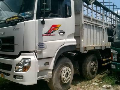 Gia đình Cần bán xe tải cũ dongfeng Hoàng huy hai rí tải trọng 9.9 tấn đời 2013 giá hớp lý 2