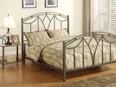 Mẫu giường sắt đơn giản   đẹp   sang trọng phù hợp gia đình có trẻ nhỏ 5