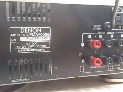 Amply Denon PMA - 1000G 3