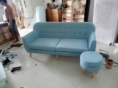 Ghế Sofa Đôi hạnh phúc - Sofa đôi phòng khách sang trọng 9