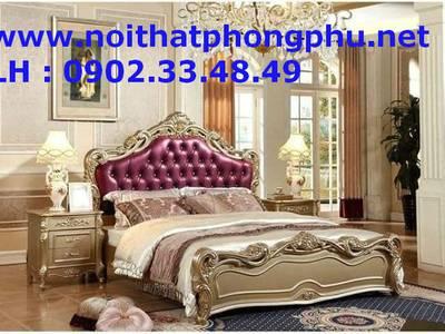 Giường ngủ cổ điển sang trọng - Giường ngủ Hoàng gia đẹp 3