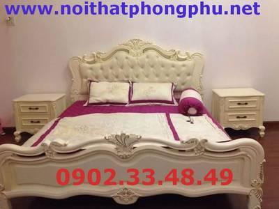 Giường ngủ cổ điển sang trọng - Giường ngủ Hoàng gia đẹp 9
