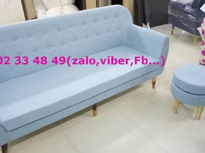Sofa phòng khách sang trọng - sofa vải tặng kèm bàn nước 8