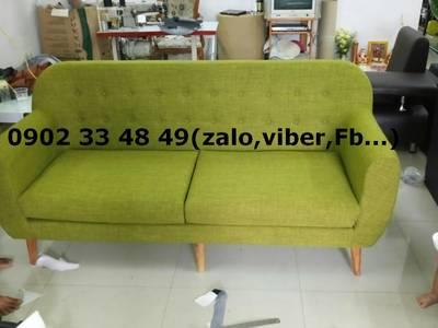 Sofa phòng khách sang trọng - sofa vải tặng kèm bàn nước 9