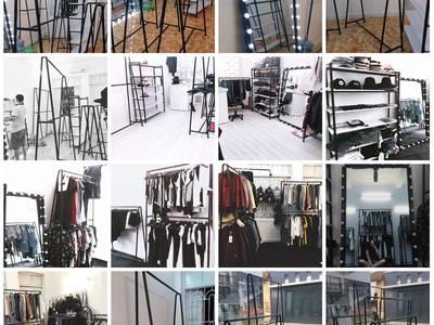 ĐỊA CHỈ UY TÍN: chuyên thiết kế và thi công giàn giá kệ shop thời trang giá tốt nhất 18