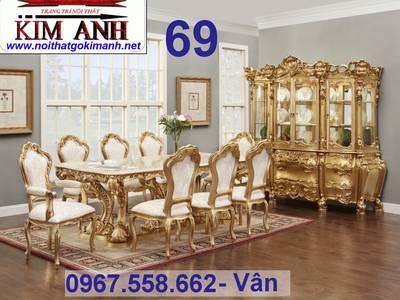 Xưởng Đóng Bàn Ghế Ăn Cổ Điển - bàn ghế ăn tân cổ điển tại Cần Thơ Bạc Liêu 6