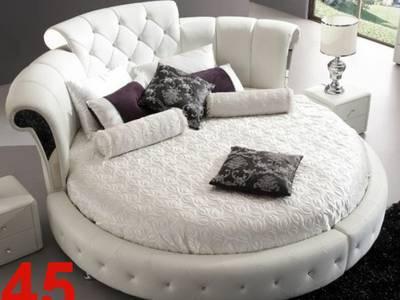 Giường tròn đẹp - mua giường tròn ở đâu đẹp - Giường Tròn Ấn Tượng 15