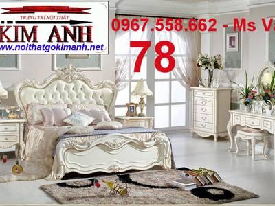 Top 20 mẫu giường cổ điển châu âu đẹp bán chạy nhất 12