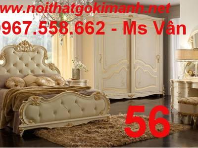 Top 20 mẫu giường cổ điển châu âu đẹp bán chạy nhất 14