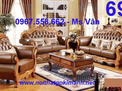 Sofa co dien - sofa gỗ cổ điển - sofa tân cổ điển giá rẻ 11